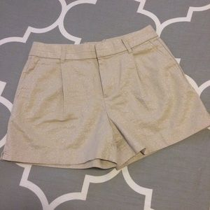BR Sparkle Gold Shorts Size 0